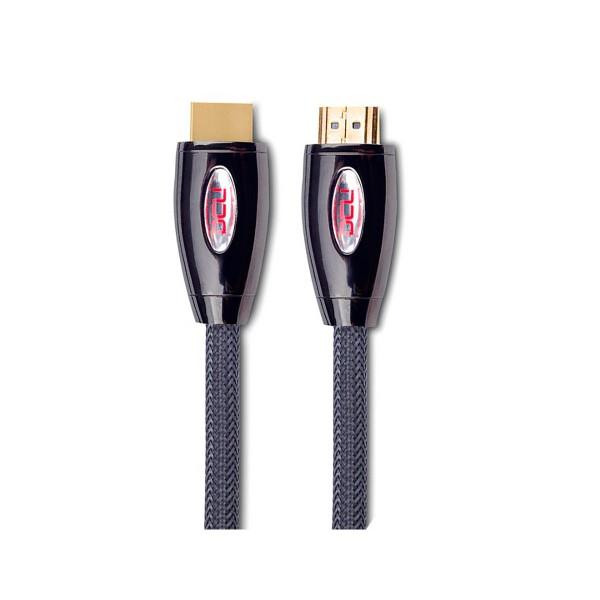 Dcu cable conexión hdmi 2.0 a hdmi 2.0 macho-macho metal premmium 0.5 metros