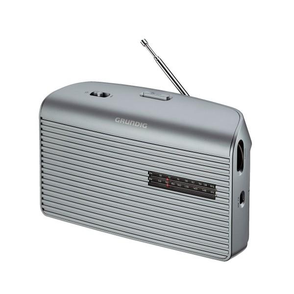 Grundig music 60 plata radio am/fm de sobremesa portátil con altavoz