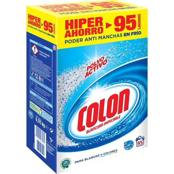 Colon Detergente polvo Blancura Impecable 95 CAC
