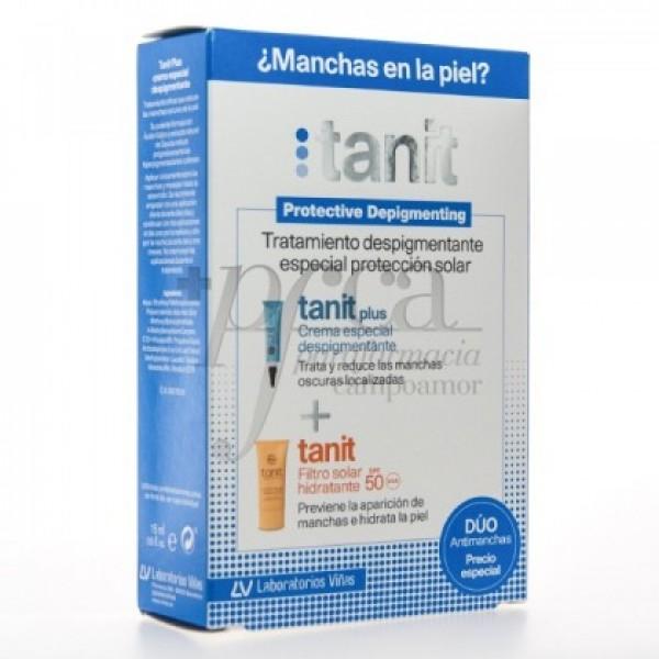 TANIT PLUS 15ML + FILTRO SOLAR HIDRATANTE 50ML