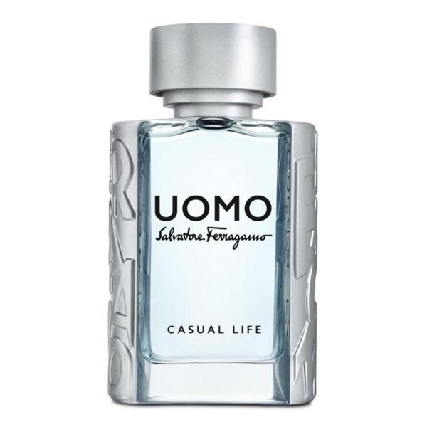 Salvatore ferragamo uomo casual life eau de toilette 50ml vaporizador