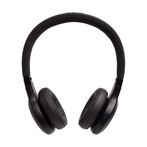 Jbl live 400 bt negro auriculares on-ear inalámbricos bluetooth manos libres asistente de voz