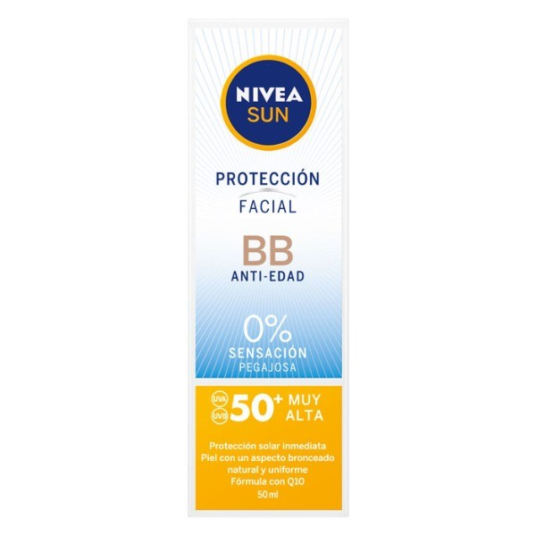 Nivea protección facial BB Anti edad SPF50 50 ml