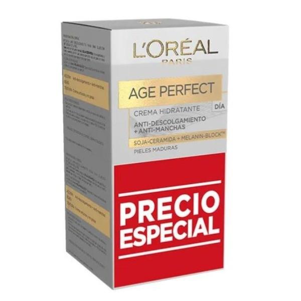 Age Perfect crema de día 50 ml + 50 ml PACK AHORRO