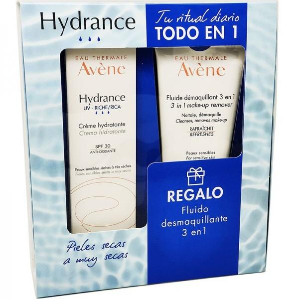 AVENE HYDRANCE UV LIGERA SPF30 40 ML + FLUIDO DESMAQUILLANTE 3 EN 1 100 ML PROMO