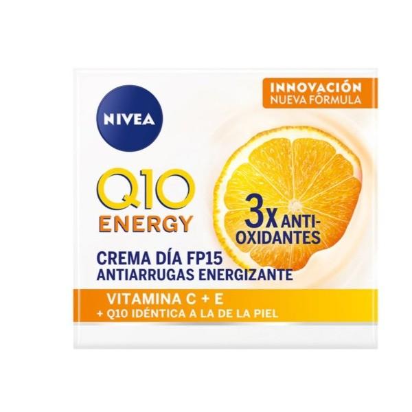 Nivea crema facial Q10 Energy Vitamina C + E 50 ml