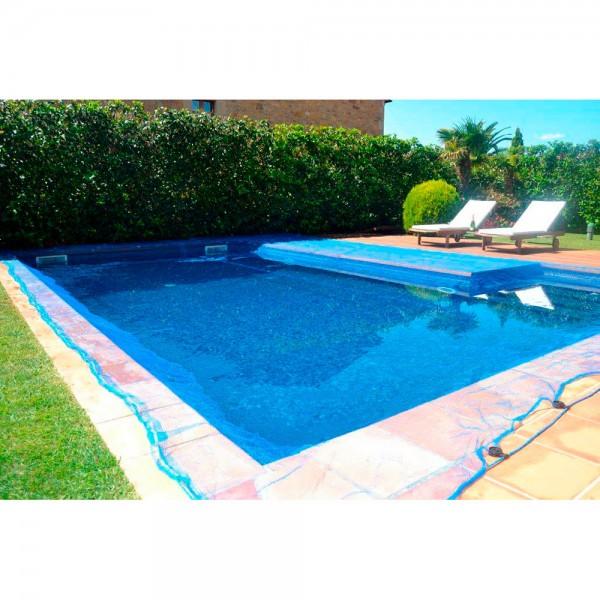 Malla para piscina 7x7m leaf pool cover