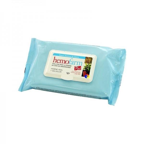 Hemofarm Plus toallitas higiénicas 20 uds